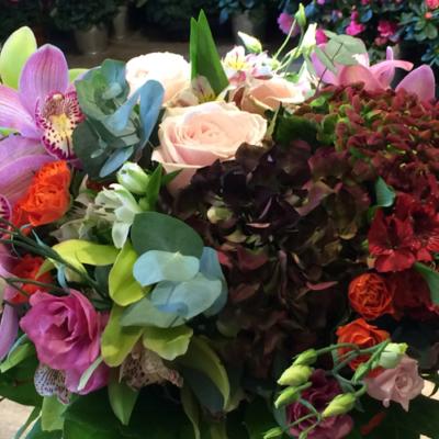 bouquet rond18