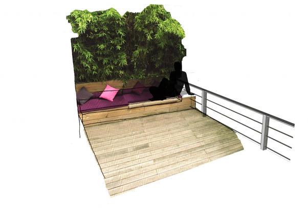 Idée de terrasse extérieure